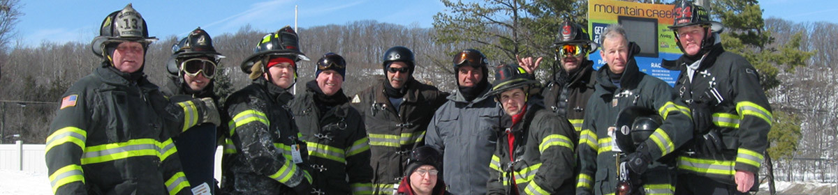 New Jersey Firefighters Ski Race